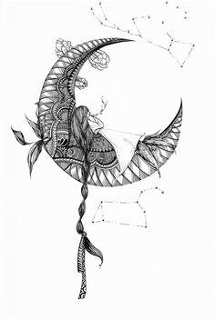 [4#korean fairytale] [4#해와달이된오누이]  #일러스트레이터  #일러스트 #일러스트레이션 #손그림 #그림 #펜화 #드로잉 #drowing   #illustration #illust  #illustrator #lineart #art #artworks  #패턴 #삽화  #panart #doodle #mandala #kids #fairytale  #mandala #character #캐릭터 #moon #달