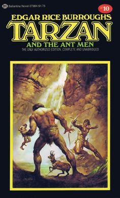 Boris Vallejo Tarzan and the Ant Men
