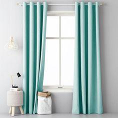 Tyrkysový záves do obývačky - domtextilu. Design Case, House Design, Curtains, Shower, Bathroom, Architecture, Inspiration, Home Decor, Design For Home