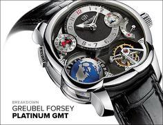 Review: Greubel Forsey Platinum Tourbillon GMT - Gear Patrol