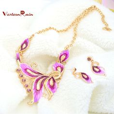 Find More Jewelry Sets Information about Free Shipping Vintage Party Earring Jewelry Set Austria Crystal Gold Plated Leaf Shape Fashion Wedding Bridal Necklace N803,High Quality Jewelry Sets from Yiheng  Fashion Jewelry on Aliexpress.com