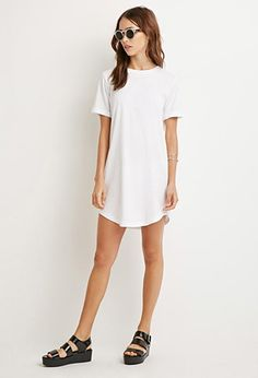 Classic T-Shirt Dress | Forever 21 - 2000156063
