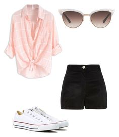 """Untitled #95"" by kittyearsgirl on Polyvore featuring River Island, Converse and Gucci"