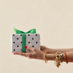 ABD: Styled Goes to a Holiday Soiree! // bracelet // Mazur spade new york bracelet // wrapping presents Holiday Photos, Christmas Photos, Christmas Time, Christmas Gifts, Preppy Christmas, Gold Christmas, Ashley Brooke Designs, Present Wrapping, Merry And Bright