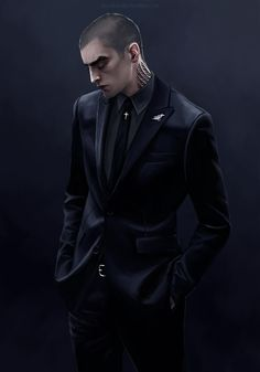 The amazing xla-hainex.tumblr.com is back at it again. Ronan in an all-black suit. Kill me now. GORGEOUSNESS. #TheRavenCycle #TRC #RonanLynch