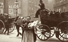 A magazine seller at Ludgate Circus in 1893, snapped by the pioneering street photographer Paul Martin.
