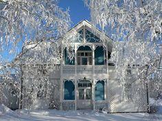 Norwegian Sveitservilla, not Finland, not too far though! I love it!