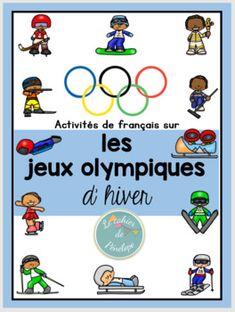 Activités sur les Jeux Olympiques d'hiver French Alphabet, Alphabet Book, Kids Olympics, Summer Olympics, Teaching French, Teaching English, Theme Sport, Olympic Idea, Core French
