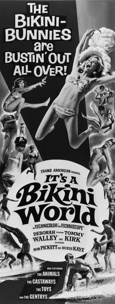 IT'S A BIKINI WORLD (1967) is a Cinema Trash Classic