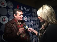 Only Channel 2 Action News spoke one on one with Republican presidential candidate Ted Cruz during his visit to Cobb County.
