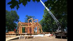 Blue Ox Timber Frames Time Lapse Video