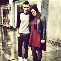Liam in Manchester earlier ...