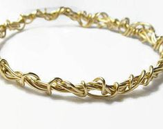 Copper Bangle Bracelet Copper Jewelry Spiral Bracelet
