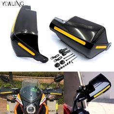 Black Handguards Handlebar Hand Guards Fit Motorcycle Motocross Dirt Pit Bike Off Road for CRF YZF KXF KTM RMZ ATV EXC Supermoto #Affiliate