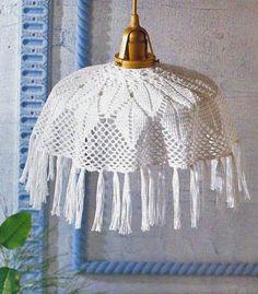 абажур крючком - Самое интересное в блогах