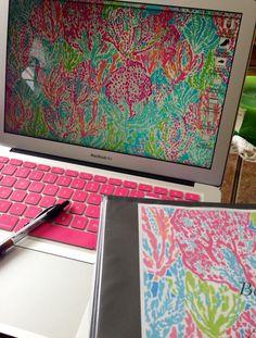 Pink keyboard for Mac :o :o :o