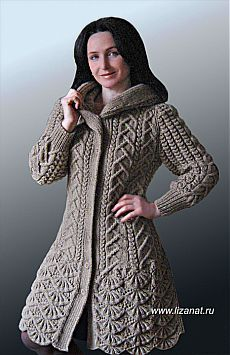 Hand Knit women sweater custom made coat by Sweater Knitting Patterns, Cardigan Pattern, Knitting Designs, Knit Cardigan, Knit Dress, Gilet Crochet, Crochet Coat, Knitted Coat, Crochet Clothes