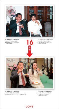 LOVE:1996年 → 2012年