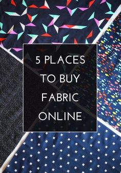 5 Places to buy Fabric Online
