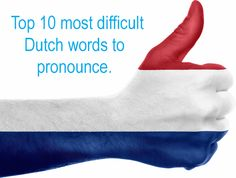 Meteorologisch (meteorological) is the most difficult Dutch word to pronounce, according to Dutch language experts. Find the remaining 9 here. Verbs List, Learn Dutch, Dutch Words, Dutch People, Dutch Language, How To Pronounce, Language Lessons, My Ancestors, North Sea