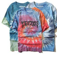 Tie Die Yeezus Tour Shirt
