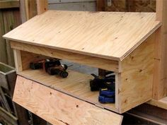 How to add exterior nest boxes to any coop plan