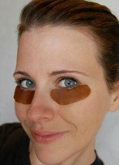 Patchs yeux anti-fatigue faits maison