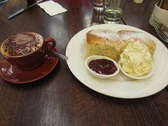Devonshire Tea (AKA: scones with jam & fresh cream)