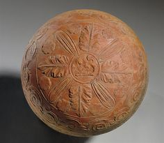 AN ITALO-MEGARIAN WARE POTTERY BOWL CIRCA 2ND CENTURY B.C.