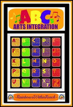 RainbowsWithinReach: Favorite Children's Art Projects