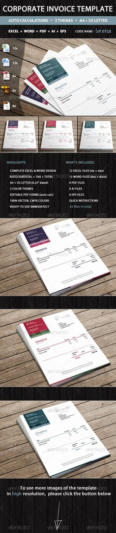 Medical Bill Template - Olivia Ready-To-Use #GraphicRiver - medical invoice