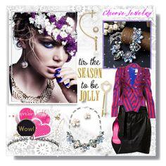 """""""chicovejewelry"""" by bellamonica ❤ liked on Polyvore featuring moda, Bomedo, Oscar de la Renta, Alexander McQueen, Oscar Tiye, Edie Parker, women's clothing, women, female y woman"""