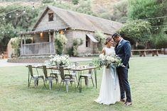 Southern California Wedding Ideas and Inspiration: Modern and Simple Wedding Ideas at Temecula Creek Inn