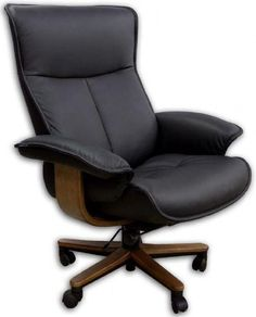 The Fjords Senator Soho leather office chair because technology maintains and improves product quality but