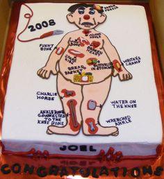 Nursing School Graduation cake