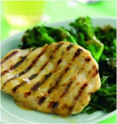 Chicken and broccoli, a quick and easy candida diet dinner staple.