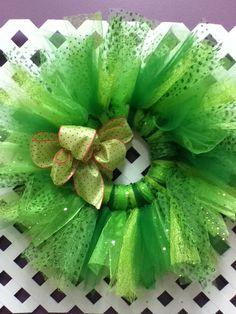 Tulle Wreaths by AmmasStudio on Etsy, $30.00