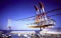 Puente del Estrecho Akashi Kaikyō, Japón.
