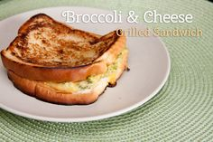 Easy Toddler Meal | Broccoli and Cheese Grilled Sandwich Recipe | Mommy Digger