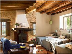 Cottage lakások, vidéki stílus - Antik bútor, egyedi natúr fa és loft designbútor, kerti fa termékek, akácfa oszlop, akác rönk, deszka, palló, wabi sabi rusztikus lakások House Design, House, Rustic Style, Rustic Home Design, Interior, Home, Cottage Homes, Interior Design, Rustic House
