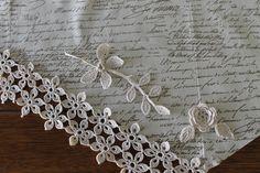 Free Irish Crochet Pattern - Escape Flower Motif