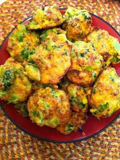 Low-Carb Broccoli Bites Recipe ~ Great Low Carb Meals
