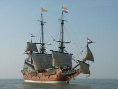 Dutch Republic, Sail Racing, Old Sailing Ships, Sailing Boat, Full Sail, East India Company, Ship Names, Dutch East Indies, Wooden Ship