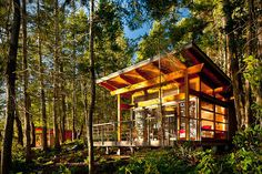 Gulf Island Cabins by Osburn Clarke 2