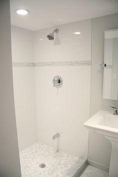 Basement Bathroom Shower — Lindsay Stephenson