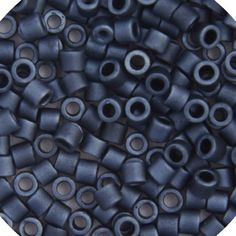 Brand Name: Miyuki Delica Shape: Round Size: Hole Size: (Approx. Number Of Beads Packed: 300 Pieces **size and color may vary slightly** All Colors of Miyuki Delica Size 8 How To Clean Brass, Dark Blue Grey, Beadwork Designs, Luster, All The Colors, Seed Beads, Ebay, Unique Jewelry, Bracelet Patterns