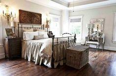 Vintage French Soul ~ Marvelous Farmhouse Style Home Decor Idea (33)