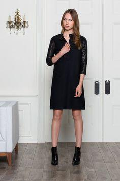 Straight A Dress - Black | Emerson Fry
