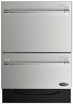 DCS 24 Inch Energy Star Qualified Double DishDrawer Dishwasher with 14 Place Settings, SmartDrive Technology, 9 Wash Cycles, and Child Lock: Stainless Steel Drawer Dishwasher, Best Dishwasher, Stainless Steel Dishwasher, Kitchen Pictures, Kitchen Pics, Washing Dishes, Kitchen Drawers