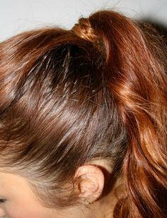 Braided Wrap Ponytail Hair Tutorial